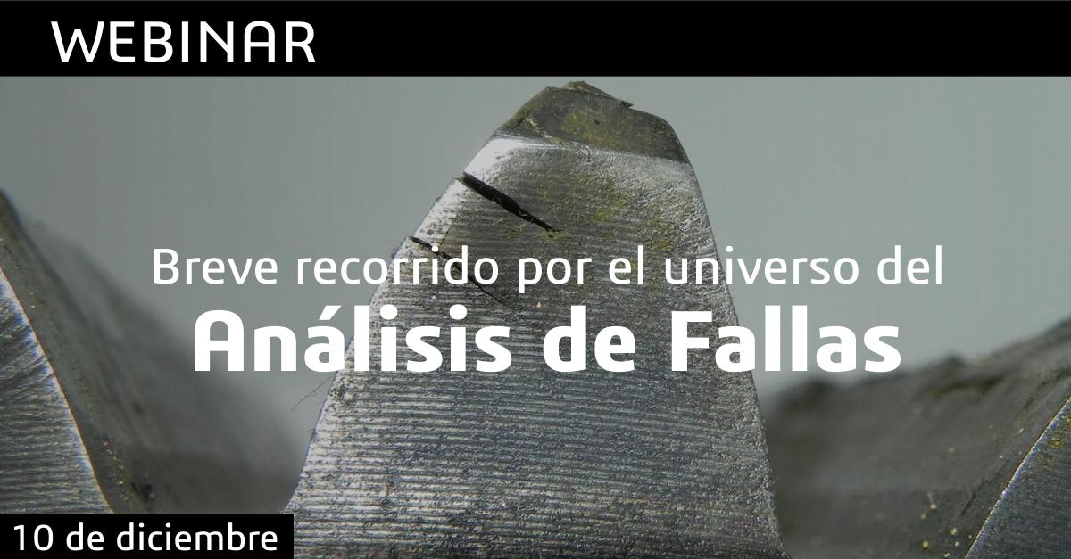 webinar analisis falla fatiga fractografia metalurgia solidworks simulacion colombia venezuela ecuador peru cursos