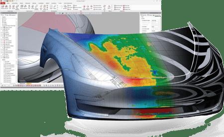 Automotriz FARO Dassault Colombia 3DExperience Solidworks Catia simulia 3d experience