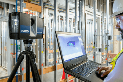 Escaner 3D FARO Focus para BIM Colombia Venezuela Ecuador
