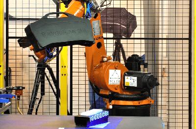 Escaner 3D robotizado automatizado evixscan scantech colombia venezuela
