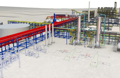 FARO As-Built AutoCAD Plant BIM Colombia Venezuela