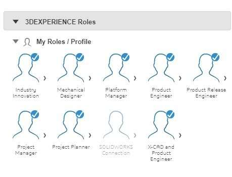 Roles 3DExperience Works for Solidworks Colombia