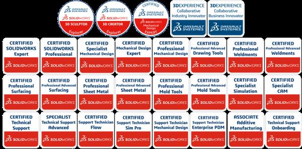 Certificaciones Solidworks Colombia Dassault Distribuidor autorizado