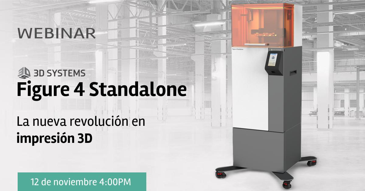 Impresora 3D Figure 4 de 3D Systems Colombia Venezuela