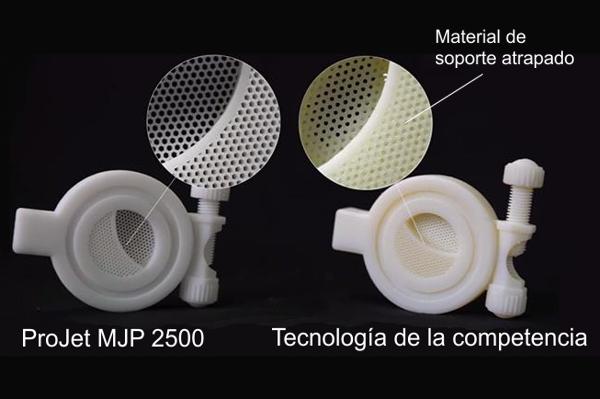 Impresora 3d plastico colombia venezuela projet 3dsystems projet 2500 mjp